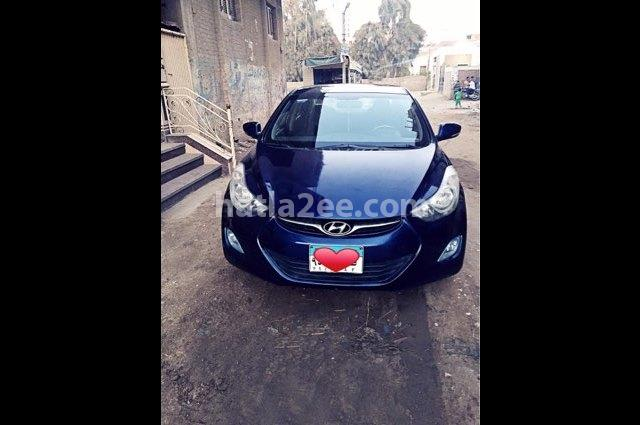 Elantra MD Hyundai Dark blue