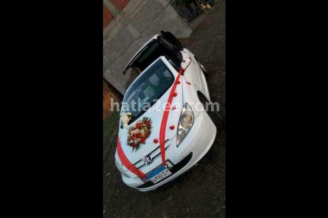 307 Peugeot White