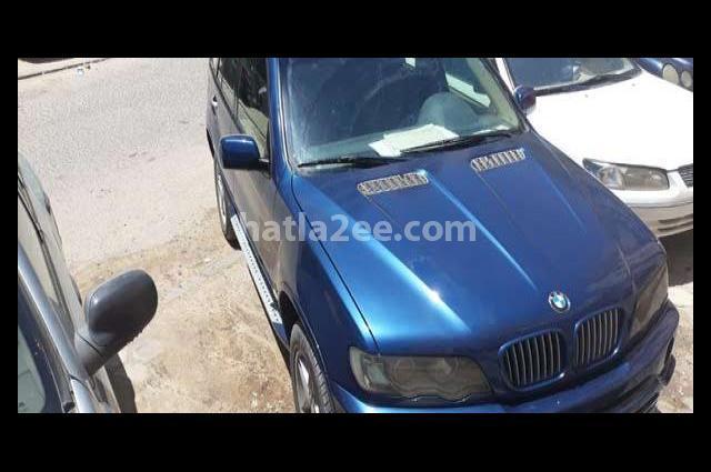 X5 BMW أزرق