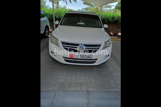 Tiguan Volkswagen White