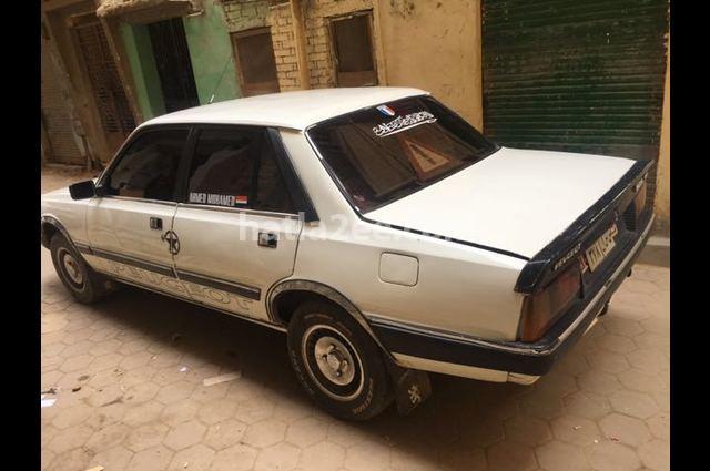 505 Peugeot White