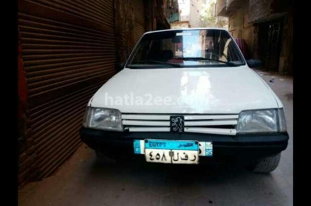 205 Peugeot أبيض