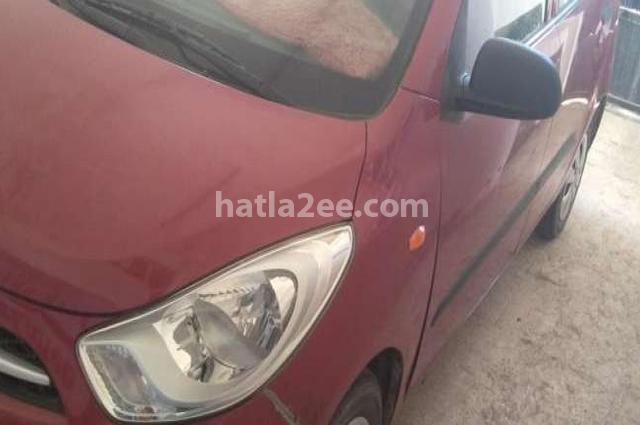 I10 Hyundai Dark red