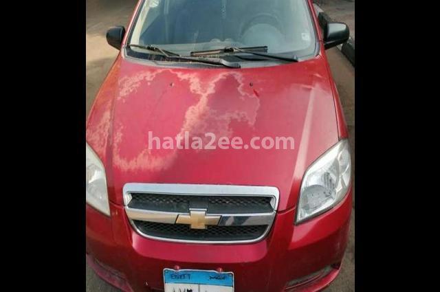 Aveo Chevrolet احمر