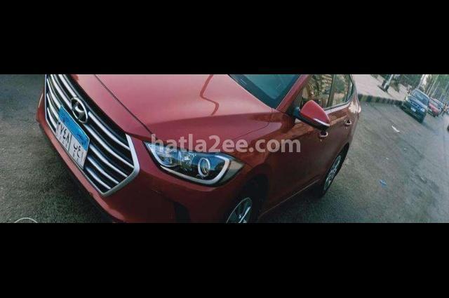 Elantra AD Hyundai احمر غامق