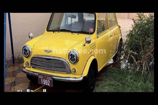 Cooper Mini اصفر