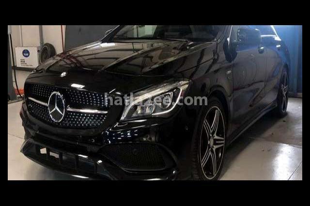 CLA 250 Mercedes Black