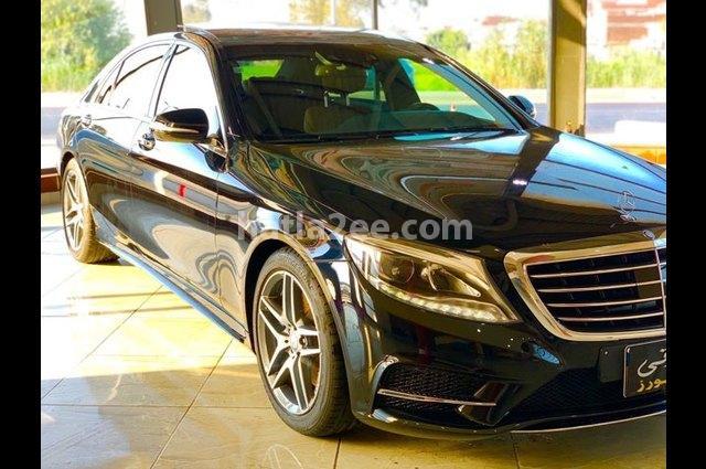 S 560 Mercedes أسود