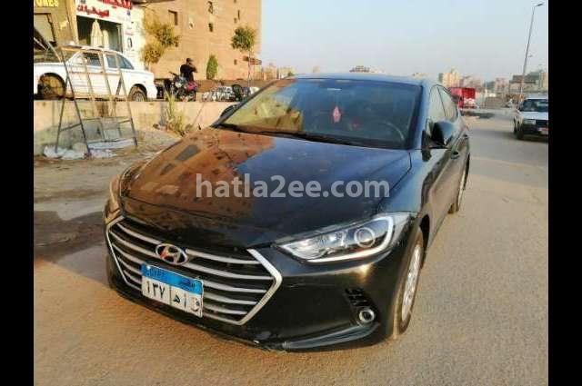 Elantra AD Hyundai أسود