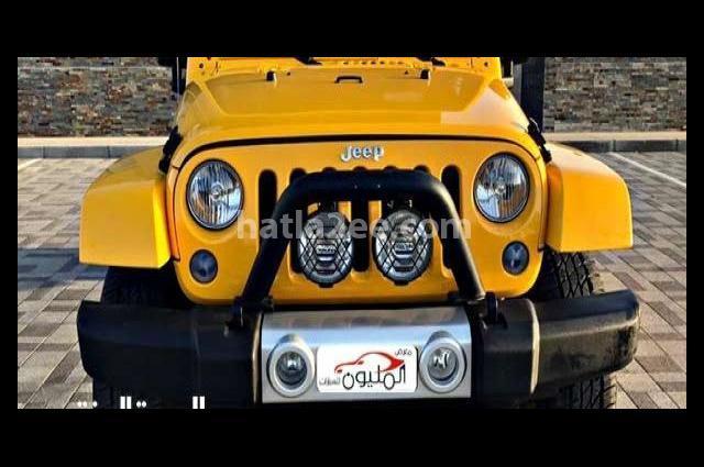 Wrangler Jeep Yellow
