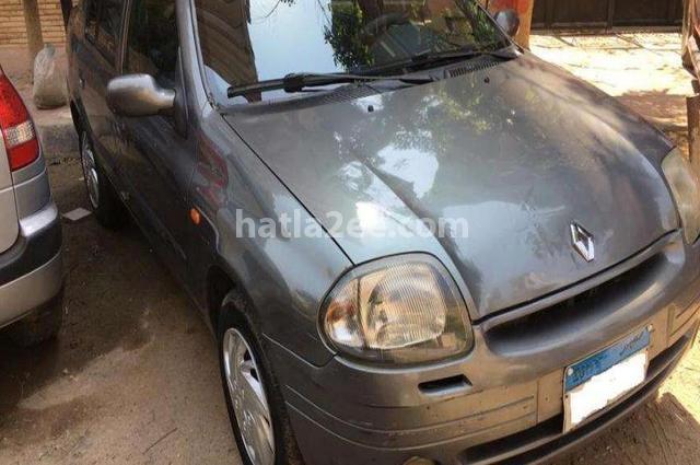 Clio Renault رمادي