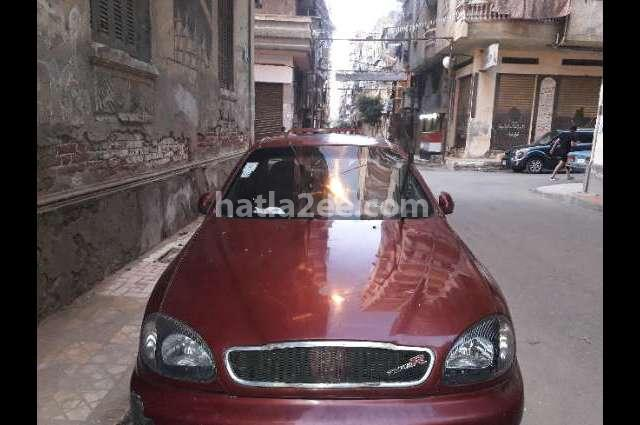 Lanos 2 Daewoo Dark red