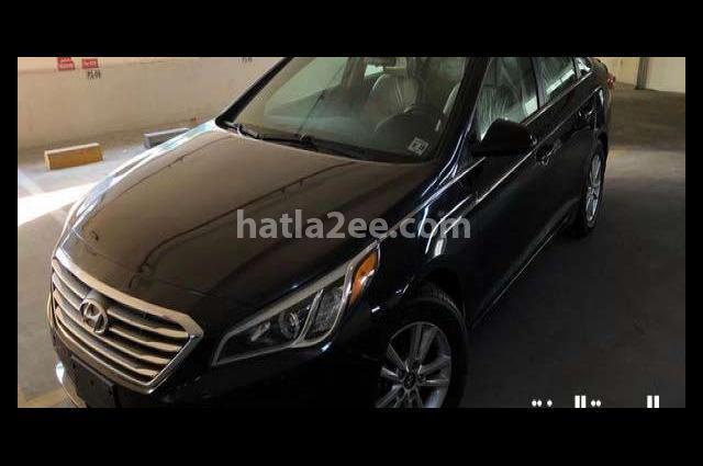Sonata Hyundai أسود