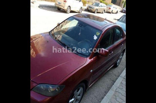 Mazda 3 Mazda Dark red