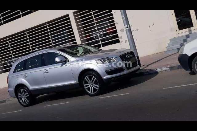 Q7 Audi Silver
