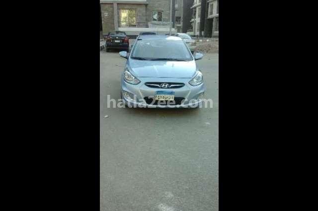 Accent Hyundai Cyan