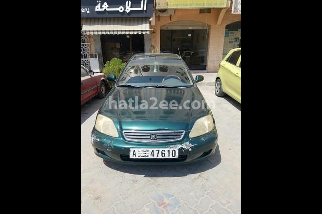 Civic Honda أخضر