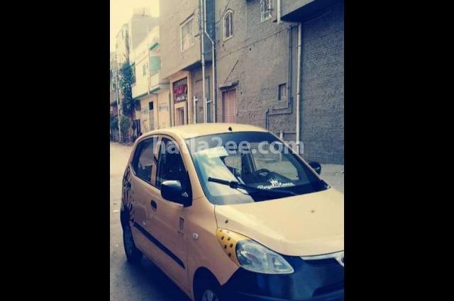 I10 Hyundai Yellow