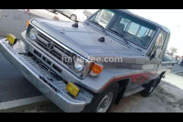 Land Cruiser Toyota فضي