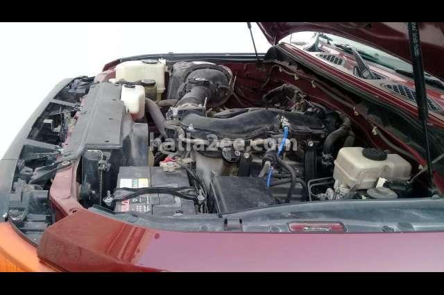 FJ Toyota Dark red