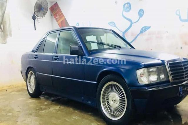 190 Mercedes Dark blue