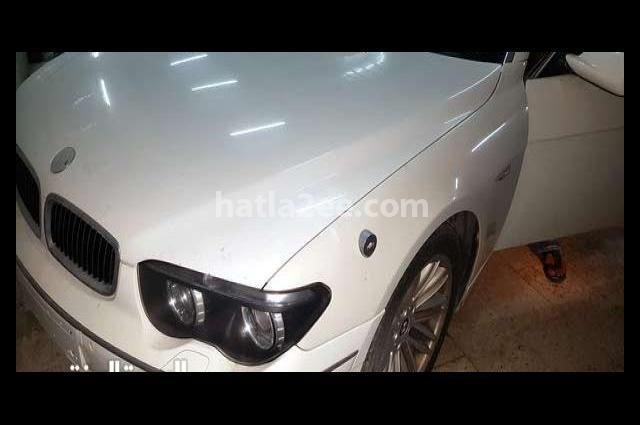 730 BMW White