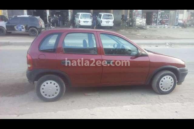 Corsa Opel Dark red