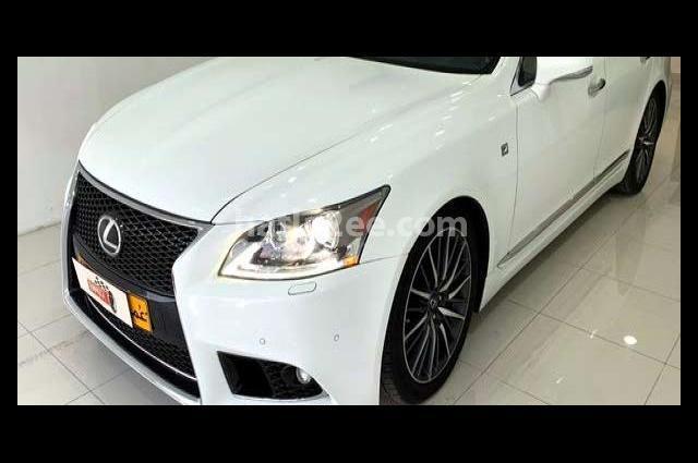Ls Lexus White