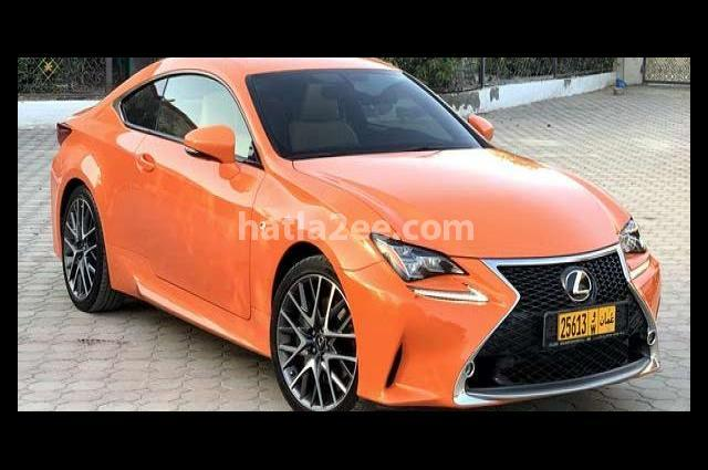 RC Lexus برتقالى