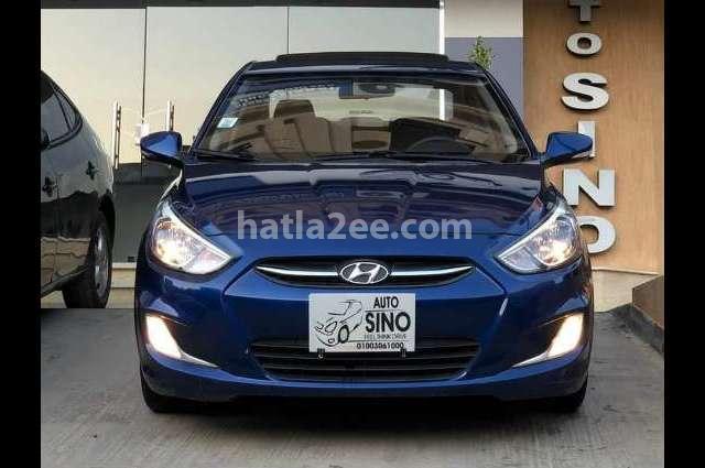 Accent Hyundai Blue