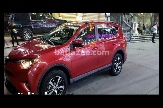 Rav 4 Toyota Red
