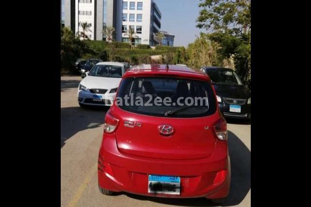 Grand i10 Hyundai Red