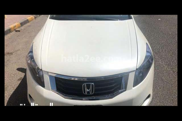 Accord Honda White