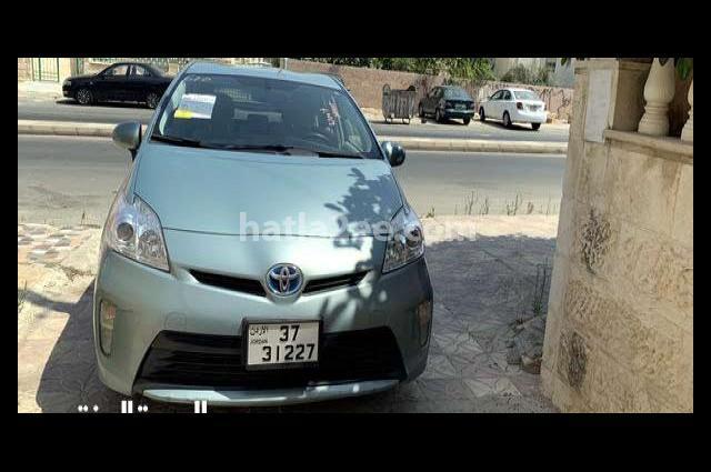 Prius Toyota Cyan