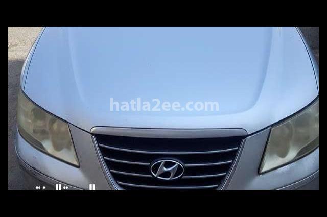 Sonata Hyundai فضي