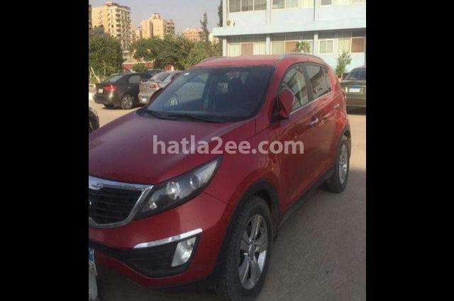 Sportage Kia Red