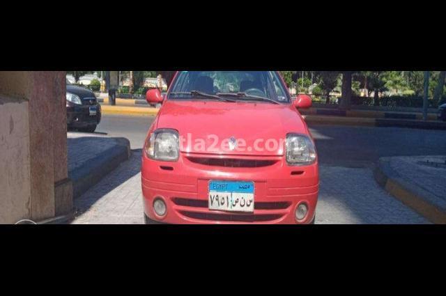 Clio Renault Red