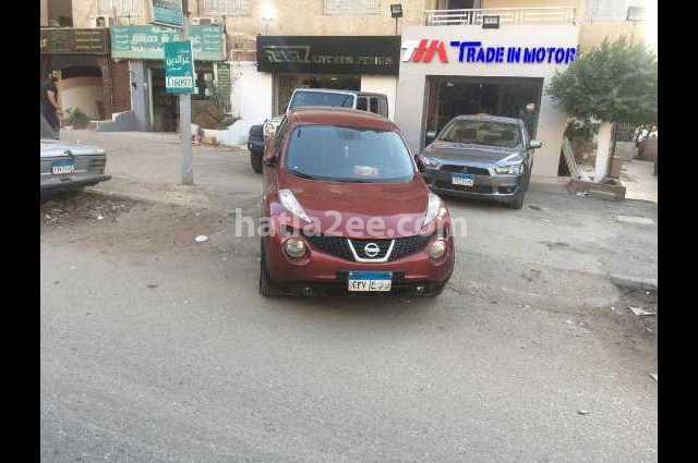 Juke Nissan احمر