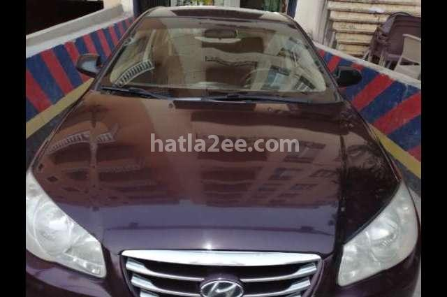 Elantra HD Hyundai Purple