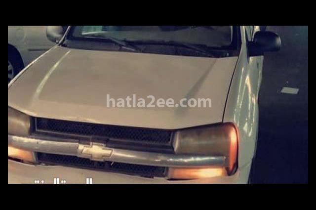Trial Blazer Chevrolet White