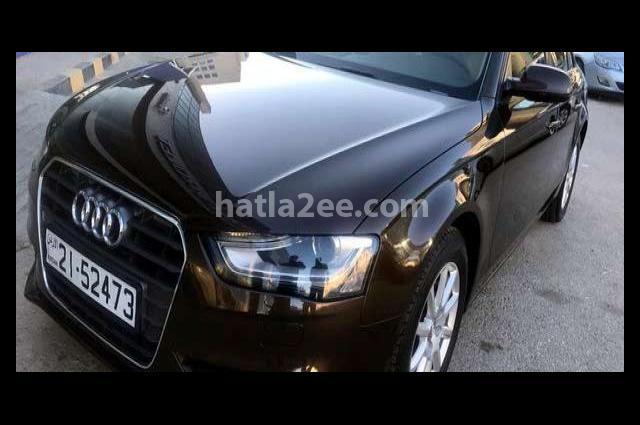 A4 Audi بني