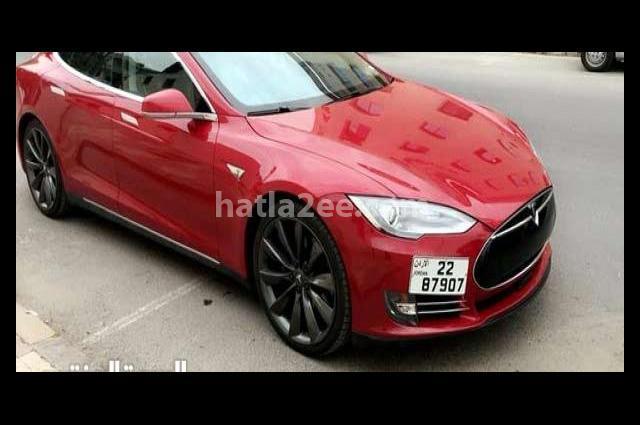 Model S Tesla Red