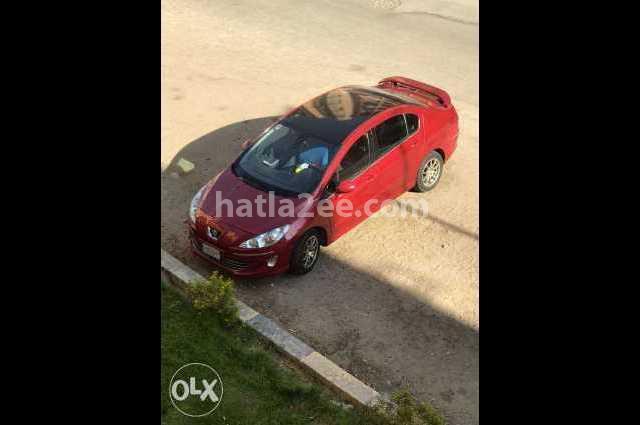 408 Peugeot احمر