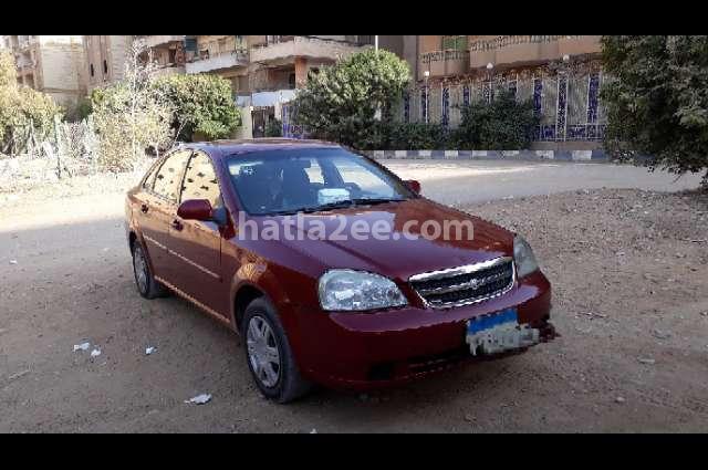 Optra Chevrolet Dark red