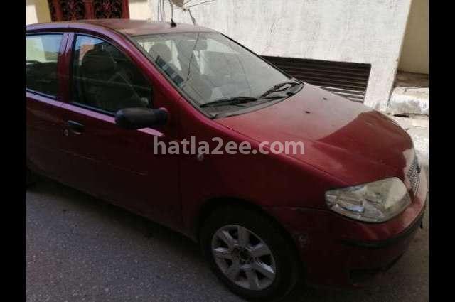 Punto Fiat Dark red