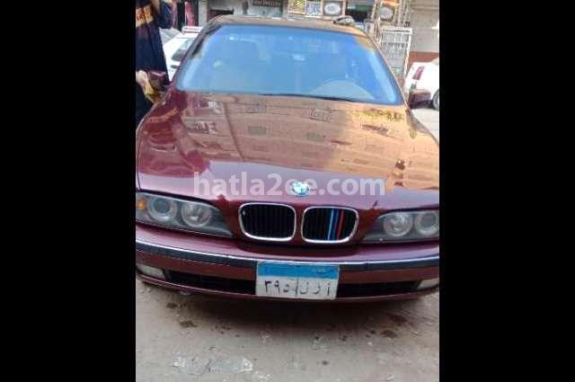 525 BMW Dark red