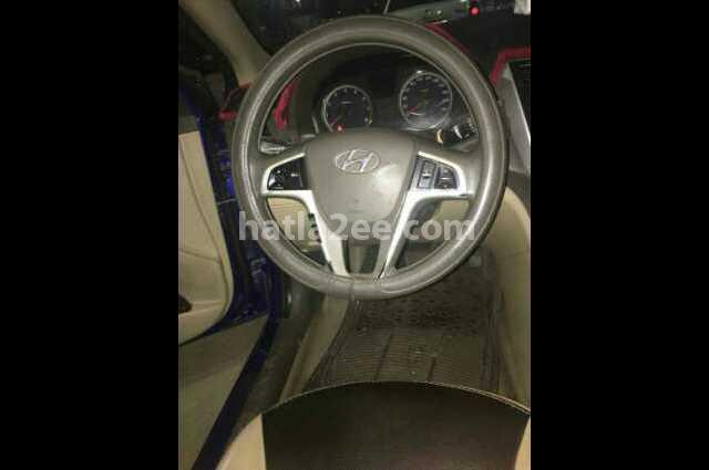 Accent RB Hyundai Blue