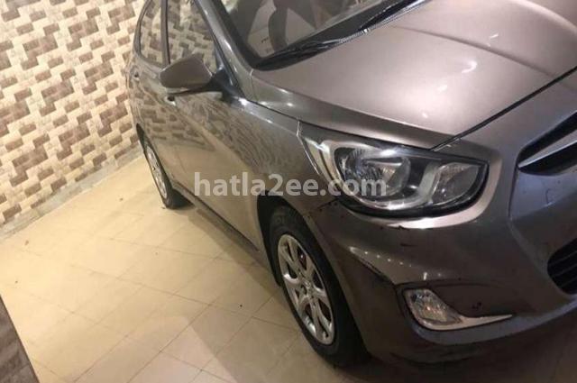 Accent Hyundai Gray