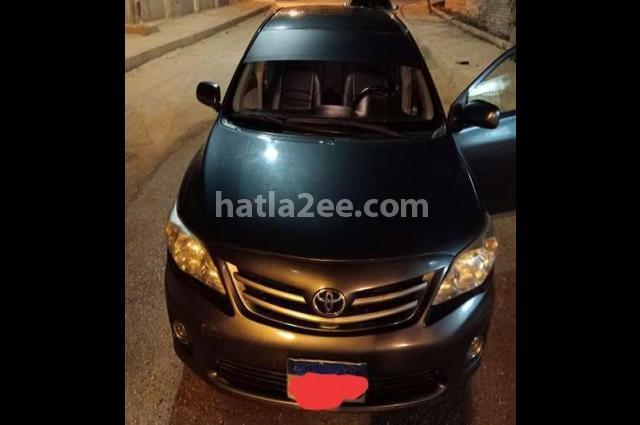 Corolla Toyota رمادي