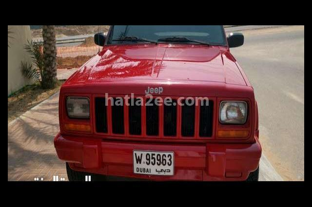 Grand Cherokee Jeep Red